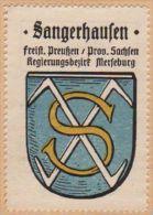 Werbemarke (Reklamemarke, Siegelmarke) Kaffee Hag : Wappen Von Sangerhausen - Tea & Coffee Manufacturers