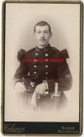 CDV Jeune Soldat Du 26e Régiment-bon Tireur-shako Avec Grenade-bel état-photo Thiriot à Nancy - Guerre, Militaire