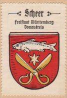 Werbemarke (Reklamemarke, Siegelmarke) Kaffee Hag : Wappen Von Scheer - Tea & Coffee Manufacturers