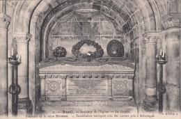 Cp , 92 , RUEIL , Intérieur De L'Église , La Crypte , Tombeau De La Reine Hortense - Rueil Malmaison