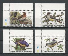 DOMINIQUE 1981 N� 672/675 ** Neufs = MNH Superbes Cote 12,50 € Faune  oiseaux birds Fauna Animaux