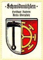 Werbemarke (Reklamemarke, Siegelmarke) Kaffee Hag : Wappen Von Schmidmühlen - Tea & Coffee Manufacturers