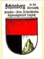 Werbemarke (Reklamemarke, Siegelmarke) Kaffee Hag : Wappen Von Schönberg In Der Oberlausitz - Tea & Coffee Manufacturers