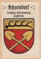 Werbemarke (Reklamemarke, Siegelmarke) Kaffee Hag : Wappen Von Schorndorf - Tea & Coffee Manufacturers