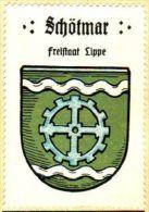 Werbemarke (Reklamemarke, Siegelmarke) Kaffee Hag : Wappen Von Schötmar - Tea & Coffee Manufacturers
