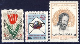 ##K1565. Iran. Islamic Republic. 1979. Michel 1947 + 1965-66. MNH(**) Please See The Description!! - Iran