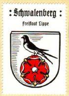 Werbemarke (Reklamemarke, Siegelmarke) Kaffee Hag : Wappen Von Schwalenberg - Tea & Coffee Manufacturers