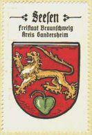 Werbemarke (Reklamemarke, Siegelmarke) Kaffee Hag : Wappen Von Seesen - Tea & Coffee Manufacturers