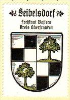 Werbemarke (Reklamemarke, Siegelmarke) Kaffee Hag : Wappen Von Seibelsdorf - Tea & Coffee Manufacturers