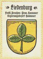 Werbemarke (Reklamemarke, Siegelmarke) Kaffee Hag : Wappen Von Siedenburg - Tea & Coffee Manufacturers