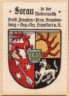 Werbemarke (Reklamemarke, Siegelmarke) Kaffee Hag : Wappen Von Sorau - Tea & Coffee Manufacturers