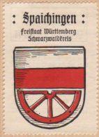 Werbemarke (Reklamemarke, Siegelmarke) Kaffee Hag : Wappen Von Spaichingen - Tea & Coffee Manufacturers