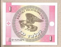 Kirghizistan - Banconota Non Circolata Da 1 Tyiyn P-1a - 1993 - Kirghizistan