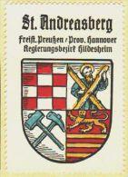 Werbemarke (Reklamemarke, Siegelmarke) Kaffee Hag : Wappen Von Sankt Andreasberg - Tea & Coffee Manufacturers