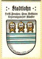 Werbemarke (Reklamemarke, Siegelmarke) Kaffee Hag : Wappen Von Stadtlohn - Tea & Coffee Manufacturers