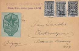 Esperanto, Kaart Congres 1924, Wien (7009) - Esperanto