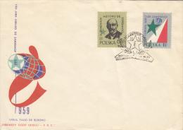 Esperanto, Zamenhof, FDC Polen, 1959 (7017) - Esperanto