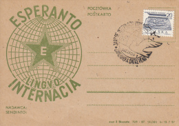 Esperanto, Kaart Polen (7022) - Esperanto