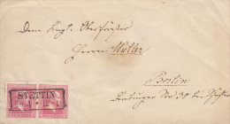 Nr 6 (2), Op Brief Van Stettin Naar Berlin (7032) - Prusse