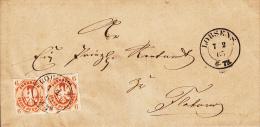 Nr 15 (2), Op Brief Van Lobsens 1865 (7036) - Prusse