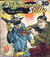 Strips - De Onbekende Stille - Western - Cowboy - Uitgave A.T.H - Teeuwen Rotterdam - N° 59 - Livres, BD, Revues