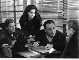 "3 PHOTOS DU FILM "" VU DU PONT"" DE 1962 AVEC RAYMOND PELLEGRIN -  JEAN SOREL - CAROL LAWRENCE - Photographs"