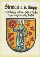 Werbemarke (Reklamemarke, Siegelmarke) Kaffee Hag : Wappen Von Steinau An Der Oder - Tea & Coffee Manufacturers
