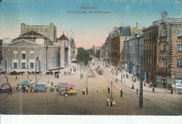 Kattowitz Friedrichstrabe Mit  Staddttheater - Polonia