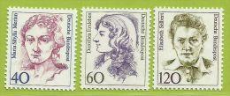Allemagne RFA 1987 1163 1165 Femmes Allemandes Merian Peintre Erxleben Médecin Selbert Notaire - [7] Federal Republic