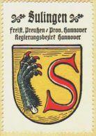 Werbemarke (Reklamemarke, Siegelmarke) Kaffee Hag : Wappen Von Sulingen - Tea & Coffee Manufacturers