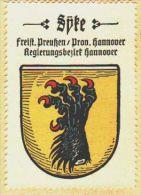 Werbemarke (Reklamemarke, Siegelmarke) Kaffee Hag : Wappen Von Syke - Tea & Coffee Manufacturers