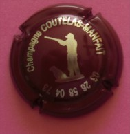 Capsule De Champagne COUTELAS MANFAIT Chasseur  Marron      Côte = 8,00€ - Champagne