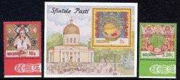 MOLDOVA 1997 Easter 2v + Block  MNH / **.  Michel 233-34 + Block 11 - Moldova