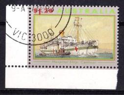 Australia 1993 Ships Of War $1.20 Hospital Ship Centaur CTO - - Gebruikt