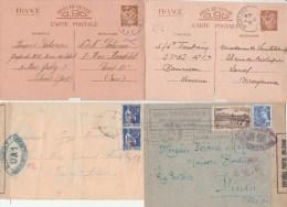Un Lot De 25 Lettres Censures Françaises Bon état - Guerra Del 1939-45