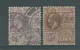 150021980  GUYANA GB   YVERT  Nº  128/9 - Guayana Británica (...-1966)