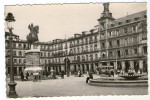 CPA     MADRID    PLAZA MAYOR MONUMENTO FELIPE III   TRAMWAY    GRAND PLACE  STATUE PHILIPPE III - Madrid