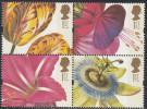 Great Britain 1997 Greetings Stamps: Flowers. Mi 1670-1671, 1675-1676 MNH - 1952-.... (Elizabeth II)