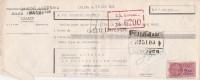 Lettre Change 16/10/1950 TOFFART Chaussures LILLERS Pas De Calais Pour La Souterraine Creuse - Bills Of Exchange