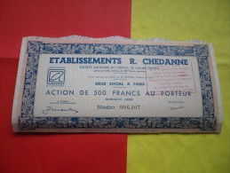 R. CHEDANNE (1964) - Unclassified