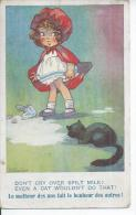 2062 - LE MALHEUR DES UNS FAIT LE BONHEUR DES AUTRES !  ( Déssin: RICHARDSON  ) CHAT - CAT - Illustrateurs & Photographes