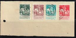 Belgien 1910, Michel# 85 - 88 I O Auf Papier - 1910-1911 Caritas