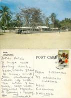 Pantai Cinta Berahi, Kota Bharu, Kelantan, Malaysia Postcard Posted 1980s Stamp - Malaysia