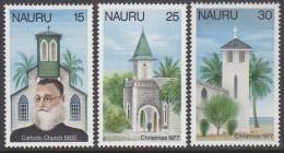 NAURU, 1977 XMAS 3 MNH - Nauru