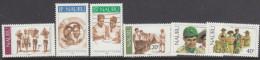 NAURU, 1982 SCOUTS 6 MNH - Nauru