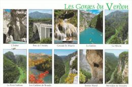 Les Gorges Du Verdon  (05)  Pas Moins De 10 Prises De Vues Différentes Pour Illustrer Les Gorges Du Verdon - France