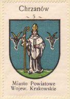 Werbemarke (Reklamemarke, Cinderella), Kawa Hag Polski : Chrzanów (Herb, Wappen, Arms, Blason) - Tea & Coffee Manufacturers