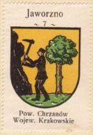 Werbemarke (Reklamemarke, Cinderella), Kawa Hag Polski : Jaworzno (Herb, Wappen, Arms, Blason) - Tea & Coffee Manufacturers