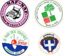 PUBLICITE AUTOCOLLANTS   (lot De 21 ) - Stickers