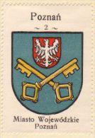 Werbemarke (Reklamemarke, Cinderella), Kawa Hag Polski : Poznań (1)  (Herb, Wappen, Arms, Blason) - Tea & Coffee Manufacturers
